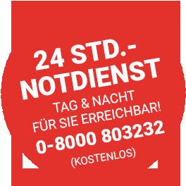 Rohrreinigun Krüsselmann bietet einen 24 Stunden Notdienst für Sie an.