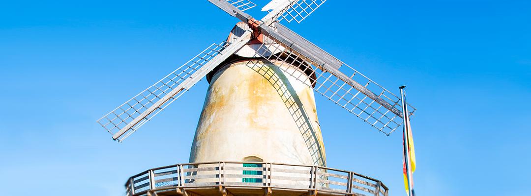 Die Glandorfer Windmühle stammt aus dem Jahre 1839