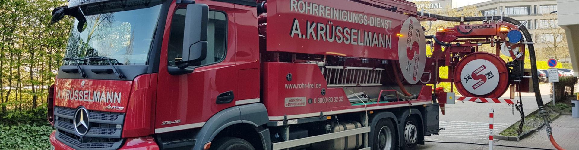 KRüsselmann Fahrzeug Rohrreinigung